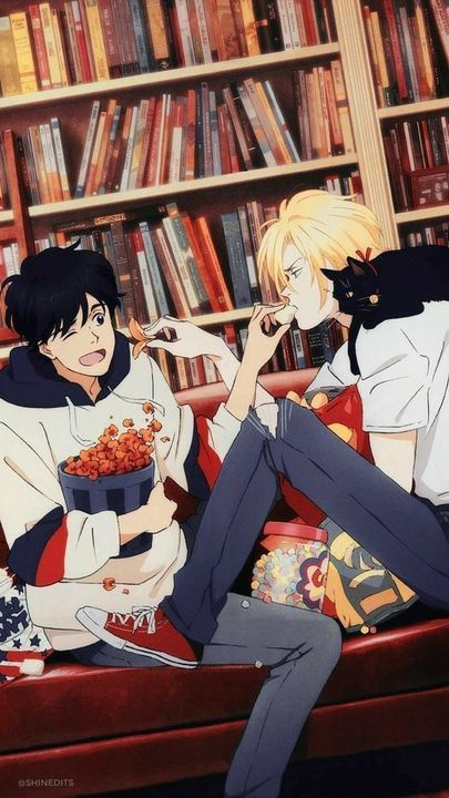 Sfondi Anime - Banana Fish - Wattpad