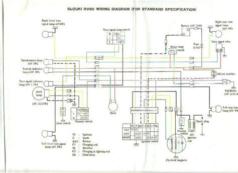 Suzuki Rv90 Wiring Diagram Suzuki Suzuki Diagram Ford Explorer