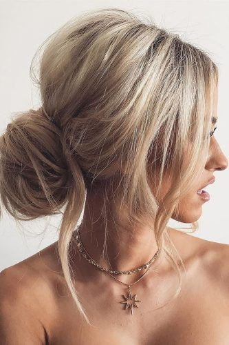 42 Chic And Easy Wedding Guest Hairstyles Chignon Hair
