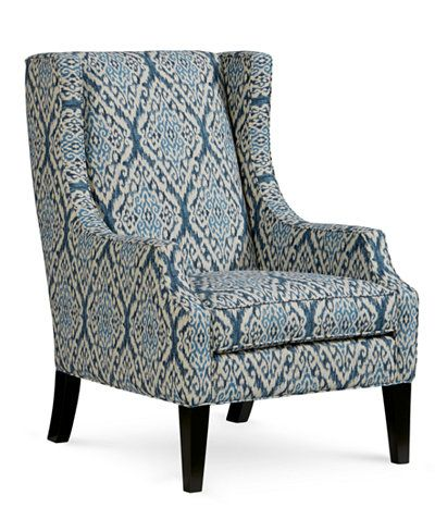 Saybridge Printed Fabric Accent Wing Chair in 2019 | Living Room ...
