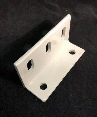 Heavy Duty Steel Angle Bracket 2 X 3 X 5 1 2 Long And 1 4 Thick With Holes Ebay Angle Bracket Bracket Zinc Plating
