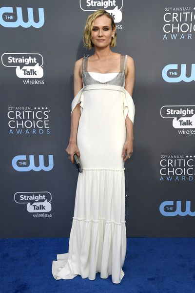 Diane Kruger in Vera Wang - The Most Daring Dresses at the 2018 Critics' Choice Awards - Photos