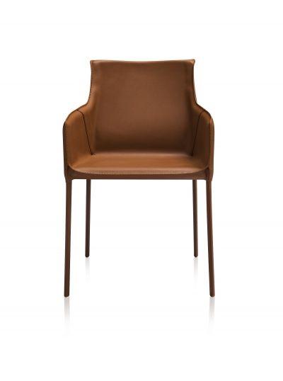 Terzo Modern Dining Chair Orange Modern Dining Chairs