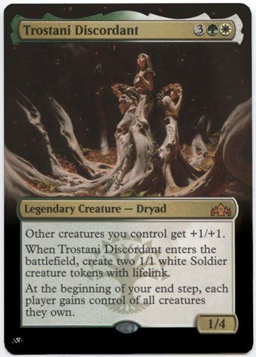 1x FOIL Trostani Discordant Near Mint Magic mythic legendary Guilds Ravnica GRN