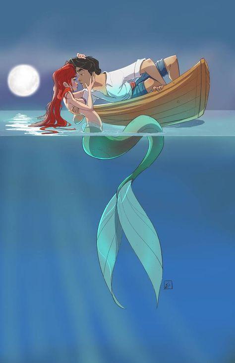 Ariel and Eric by NoahEisenman