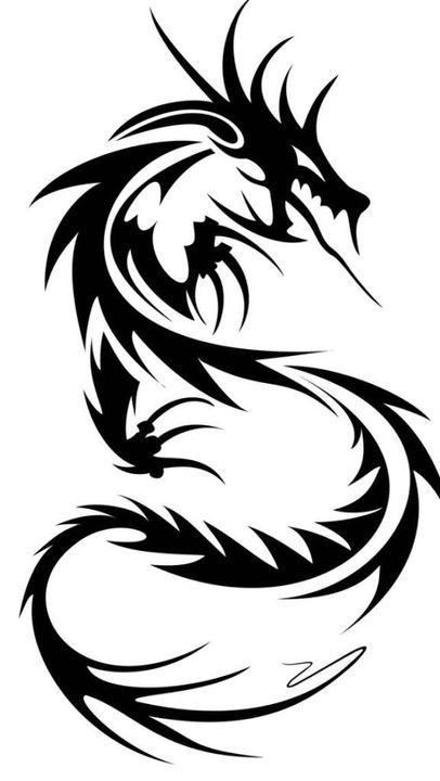 Black Dragon Orange Dragon Yona Of The Dawn Character Bio Black Dragon Tribal Dragon Tattoos Dragon Tattoos For Men Small Dragon Tattoos