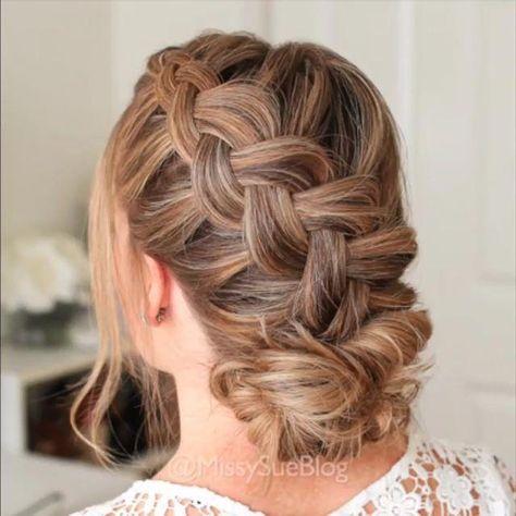 Braided hair tutorial video! - #braided #tutorial #video - #HairstyleCuteLongHair #braidedhairideas