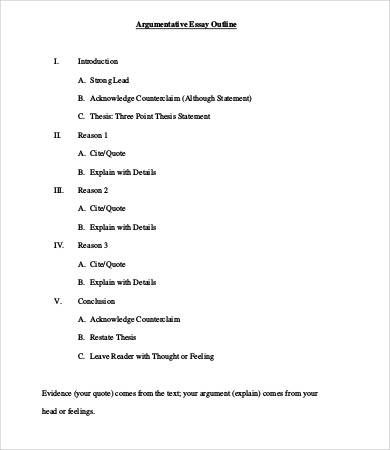 Outline Format For Argumentative Essay Demire Agdiffusion With Regard To Ou How Research Paper