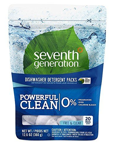 Seventh Generation Natural Dishwasher Detergent Packs Fr Https Www Amazon Com D Dishwasher Detergent Natural Dishwasher Detergent Fragrance Free Products