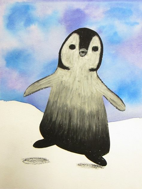 Penguin Art Projects For 2nd Graders