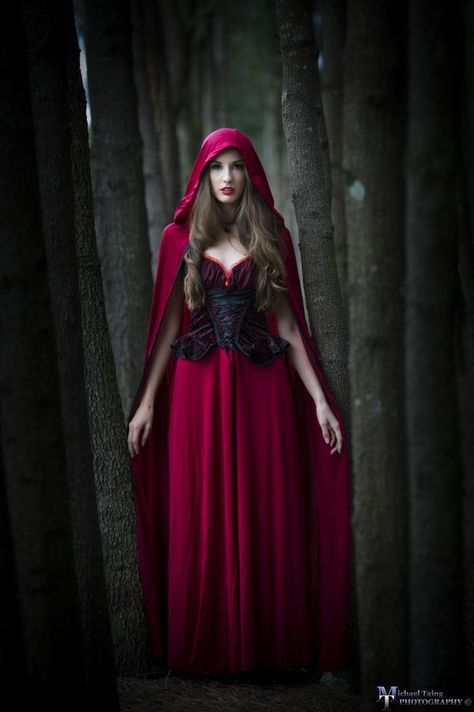 But Red Riding Hood thought to herself,