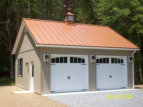 pole with barn garage kits porch packages