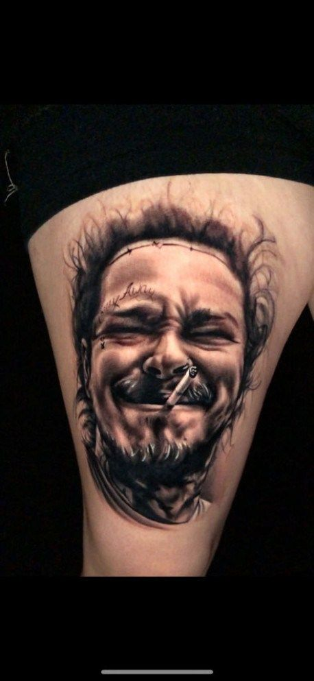 Post Malone Lil Peep Tattoo : malone, tattoo, Moments, Remember, Malone, Tattoos, Tattoos,