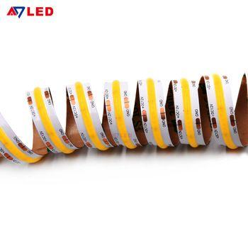 2020 New Cob Led Strip Light 528leds M 12v 24v For Linear Lighting Purple Led Lights Led Strip Lighting Strip Lighting