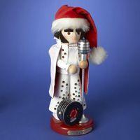Steinbach Nutcracker Musical Elvis in White Suit Nutcracker (Plays Wooden Heart) $204 #DistinctivePresents