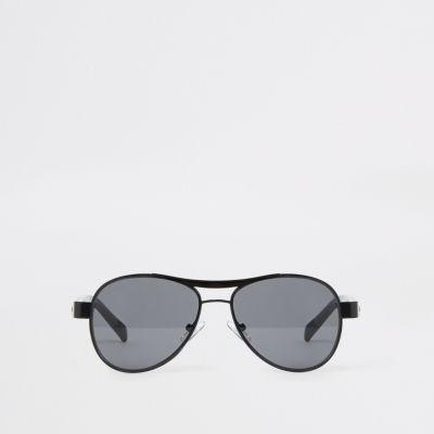 Black lenses Aviator style Brow bar Filter category 3 Complies with EN ISO  12312-1 668d4e9207