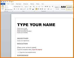 How To Make A Resume On Word.Image Result For Resume Crate Nikky Microsoft Word
