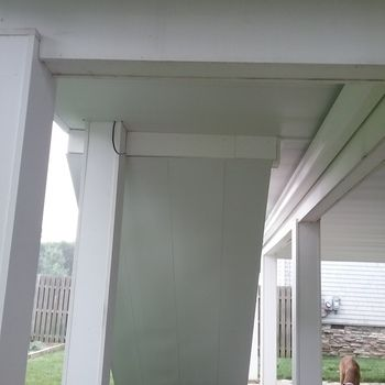 Underdeck Panel By Zip Up With Images Deck Ceiling Ideas Building A Deck Deck Building Plans