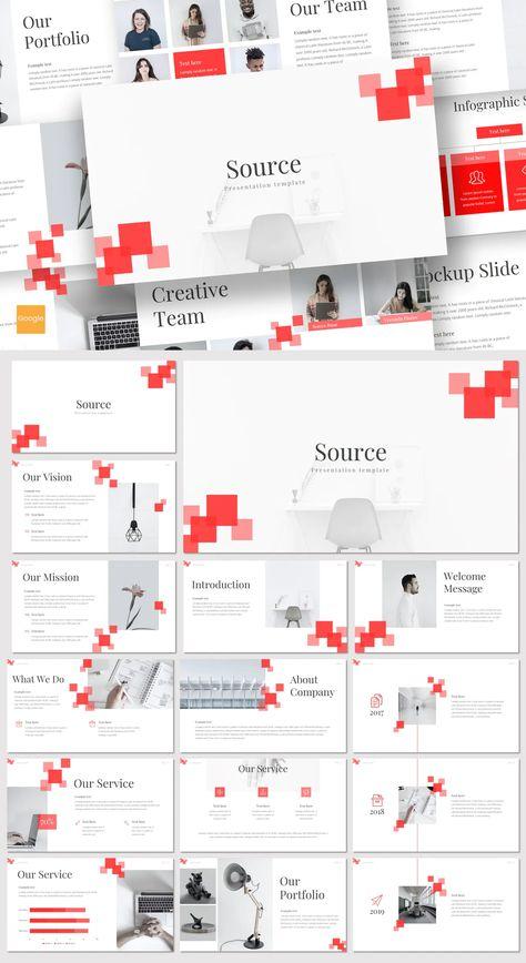 Clean Google Slides Presentation Template