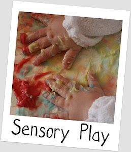This website has a ton of ideas for kids development and sensory/imaginative play. Awesome!