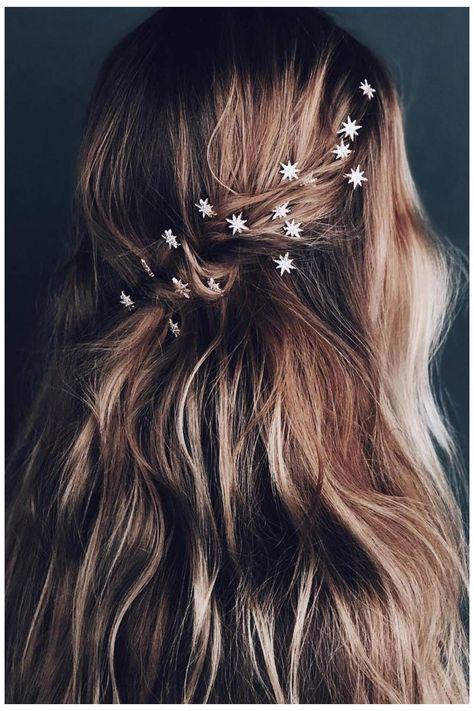Baddie Hairstyles, Boho Hairstyles, Elegant Hairstyles, Wedding Hairstyles, Model Hairstyles, Quick Hairstyles, Everyday Hairstyles, Natural Hairstyles, Winter Wedding Hair