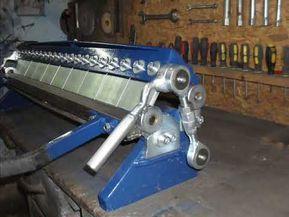 Sheet Metal Bender Brake Youtube Sheet Metal Bender Metal Bender Sheet Metal