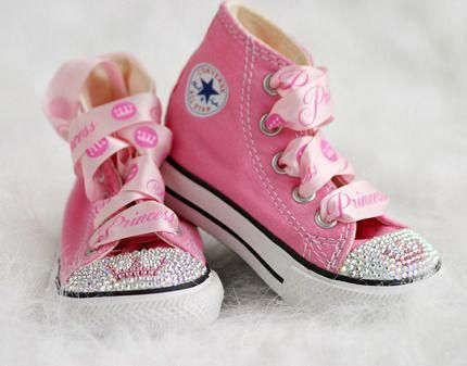 Bling Converse | Cute girl shoes, Trendy baby shoes, Bling