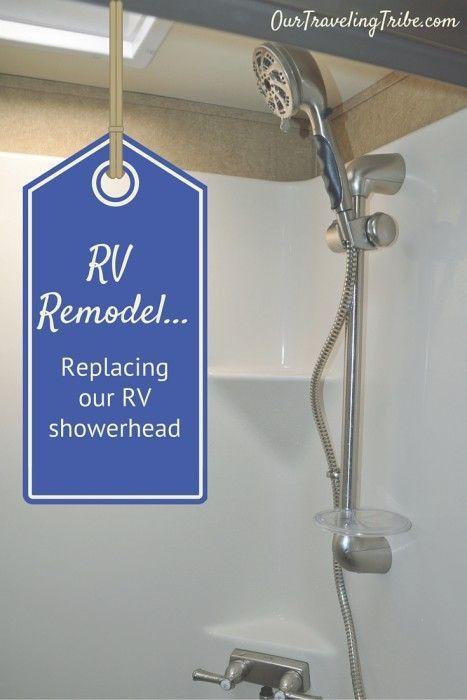 Oxygenics Shower Head Mod Installing The Fury Rv Rv Shower