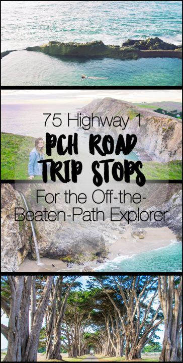 75 Pacific Coast Highway Road Trip Stops for the Off-the-Beaten-Path Explorer Pacific Coast Highway, Highway Road, West Coast Road Trip, Highway 1 Roadtrip, Visit California, California Coast, California Travel, Fort Bragg California, Road Trip Usa