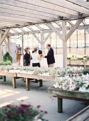 Classic New England Nantucket Greenhouse Wedding   Welcome