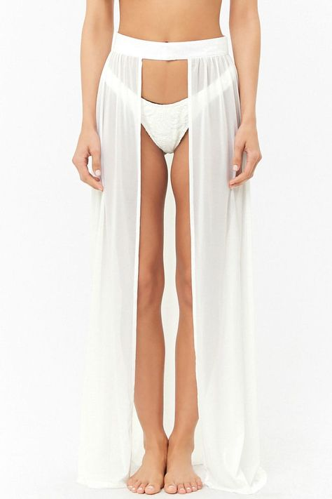 d7a21ec32b Open-Front Swim Cover-Up Maxi Skirt in 2019 | Bach Party Outfits ...