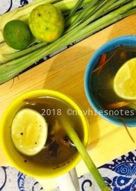 Wedang Jahe Sereh Jeruk Jasruk Makanan Manis Resep Minuman Makanan