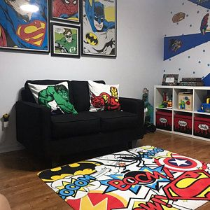 Missyelitza1 Added A Photo Of Their Purchase Superhero Room Decor Geek Home Decor Kid Room Decor