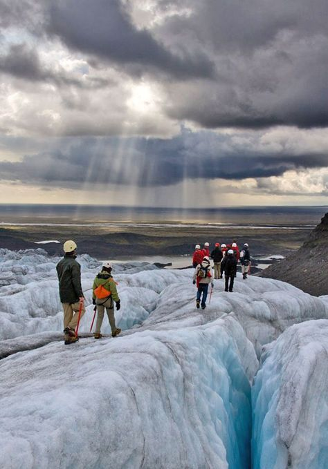 ICELAND! Glacier hike in Iceland! I'm ready for glacier expedition! #Iceland #Glacier