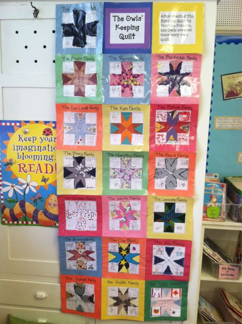 Literature 2 The Keeping Quilt Project Read Patricia