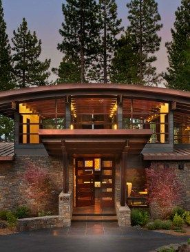Fabulous Mountain Modern Retreat In The High Sierras Quonset Hut