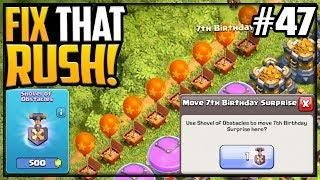 607 Gems To Do This In Clash Of Clans Fix That Rush Episode 51