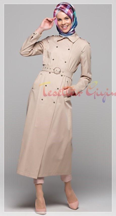 Armine Trenckot Modeli Trenckot Moda Stilleri Elbise Modelleri