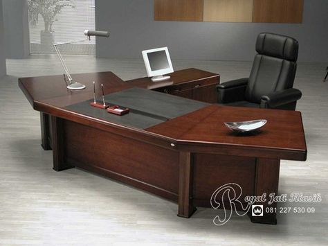 Meja Kerja Bupati Jati Mewah Klasik Office Desk For Sale Modern Home Office Furniture Executive Office Desk