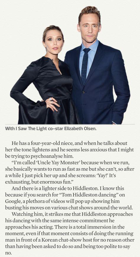 Tom Hiddleston. #TheObserverMagazine page 8. Via Torrilla.