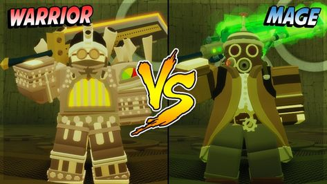 Mage Vs Warrior Who Is Better In New Map Steampunk Sewers Dungeon