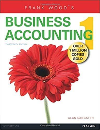 Frank Wood S Business Accounting Volume 1 13th Edition Ebook Cst Frank Woods Accounting Books Business Account