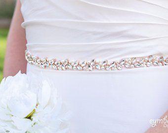 Vintage Crystal Bridal Sash Rhinestone Pearl Beaded Wedding Dress Belt Luxury Ebay Wedding Sash Belt Beaded Wedding Dress Belt Bridal Sash Belt