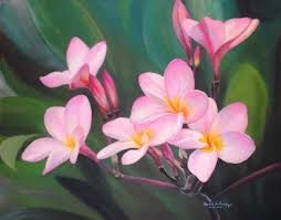 Lukisan Kanvas Bunga Kamboja Google Penelusuran Lukisan Kanvas Kanvas Bunga