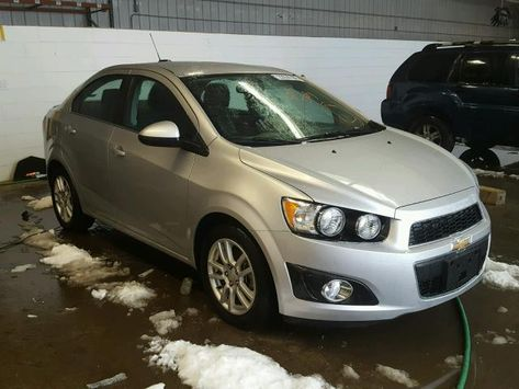 Salvage 2016 Chevrolet Sonic Lt Chevrolet Sonic Salvage Cars