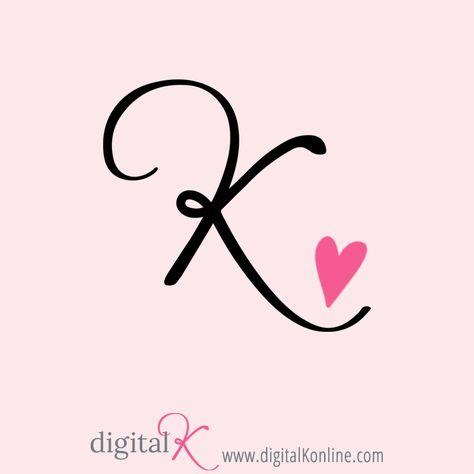 My favorite letter: K!