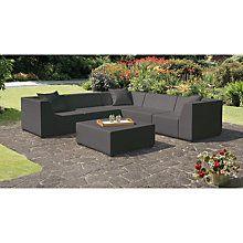 Incredible Buy Cosi Amsterdam Weatherproof Outdoor Corner Sofa Set Inzonedesignstudio Interior Chair Design Inzonedesignstudiocom