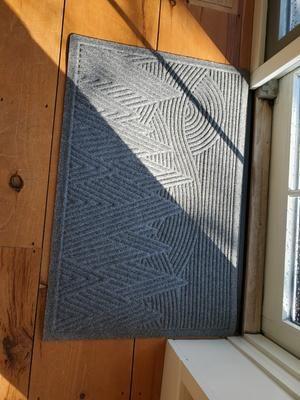 Everyspace Recycled Waterhog Doormat Mountain Scene In 2020 Door Mat Mountain Scene Recycling