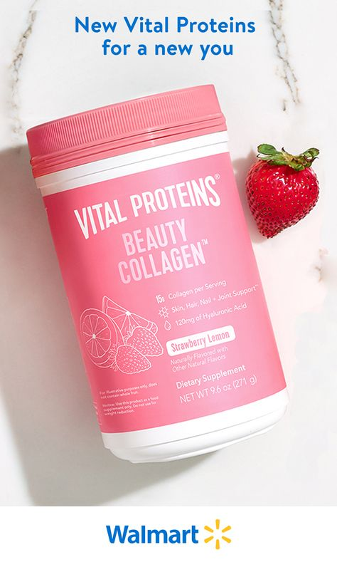 Shop Walmart for beauty supplements to help you feel and look your best. New options from Vital Proteins are available now for delivery or pickup at a store near you.
