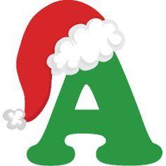 19 Ideas De Letras Gorro De Papa Noel Manualidades Navideñas Letras Feliz Navidad